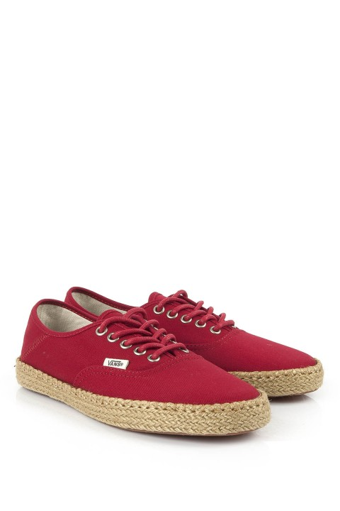 Vans Authentic Chili Pepper Espadril
