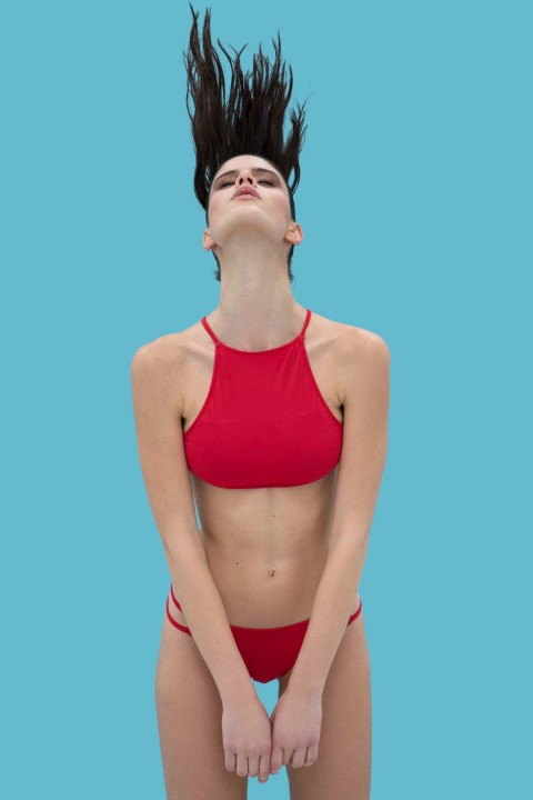 Anais Margaux Paris Carine Red Bikini