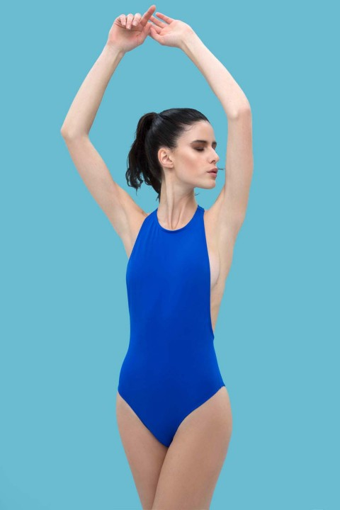 Anais Margaux Paris Simone Blue Swimsuit