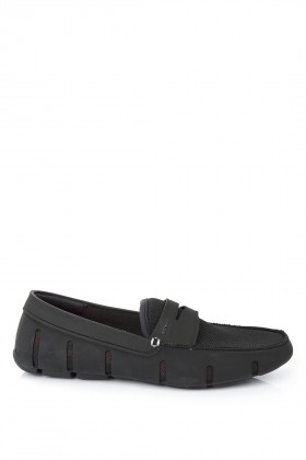 Swims - Siyah Penny Loafer