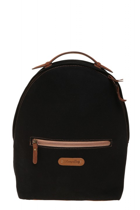 BloominBag Just Black Sırt Çantası
