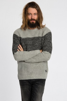 Jack & Jones - Jorblock Knıt Crew Neck