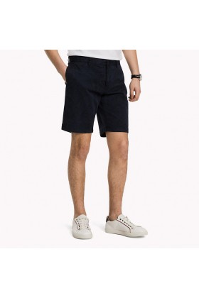 Tommy Hilfiger - Brooklyn Short Jungle Leaf Prt Vintage İndigo