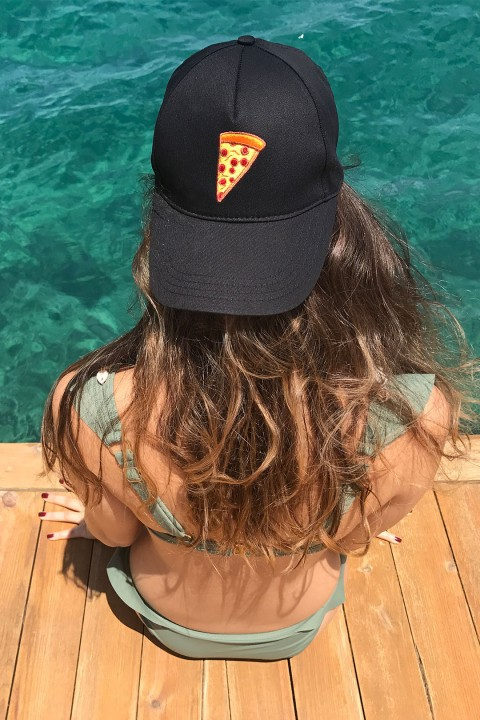 Isquare Hats Pizza Şapka