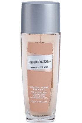 Enrique Iglesias - Enrique Iglesias Deeply Yours Woman Deo Natural Spray 75 Ml