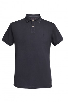 Port Royale - Basic Likralı Polo Shirt