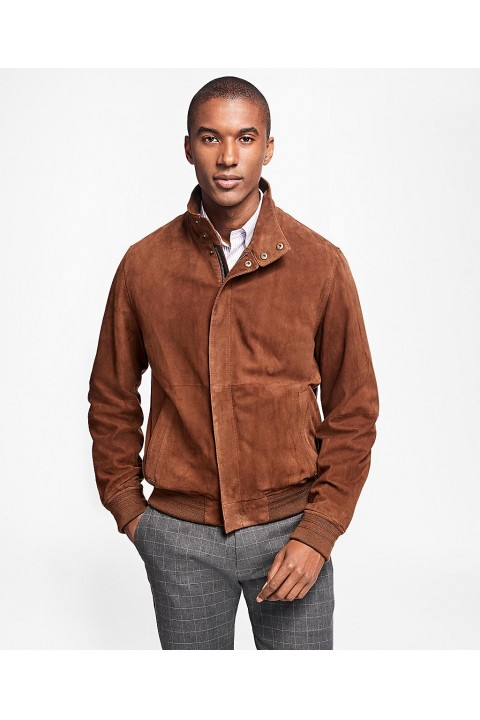 Brooks Brothers Brook Brothers Tristram Süed Bomber Erkek Kaban