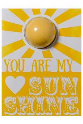 Bomb Cosmetics - You Are My Sunshine Blaster Card