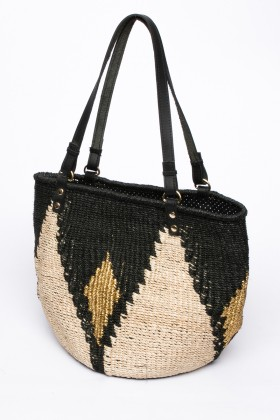 Larone by Bengartisans - The Rae Black Tote