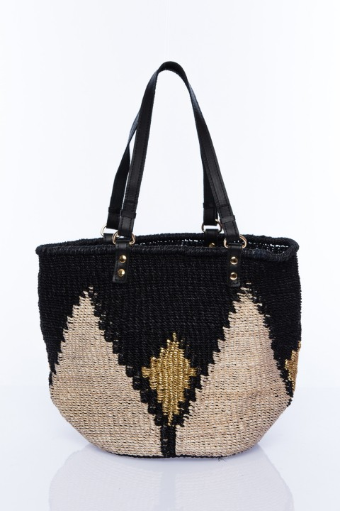 Larone by Bengartisans The Rae Black Tote