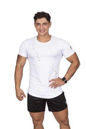 Ultimate Physic - Up Lauras Razor T-Shirt (Beyaz)