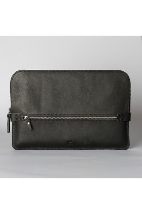 Tox Leather - Siyah Briefcase / Macbook Çantası 13''