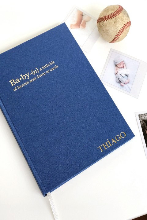 Chapters Chapters Baby Book - Blue