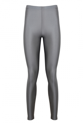 Anais Margaux Paris - Alexandra Shiny Light Grey Legging