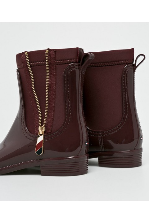 Tommy Hilfiger MATERIAL MIX RAIN BOOT