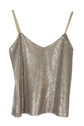 Payeds - Gold Victoria Top