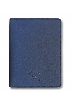 Le Color  - Le Color Leather Notebook Case Dark Blue