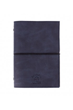 Le Color  - Le Color Handmade Leather Notebook Dark Blue