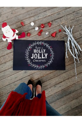 LaMoneta - Have a Holly Joly Doormat