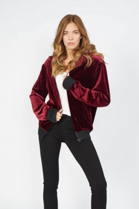 Armadio - Lotus Bordo Bomber Ceket