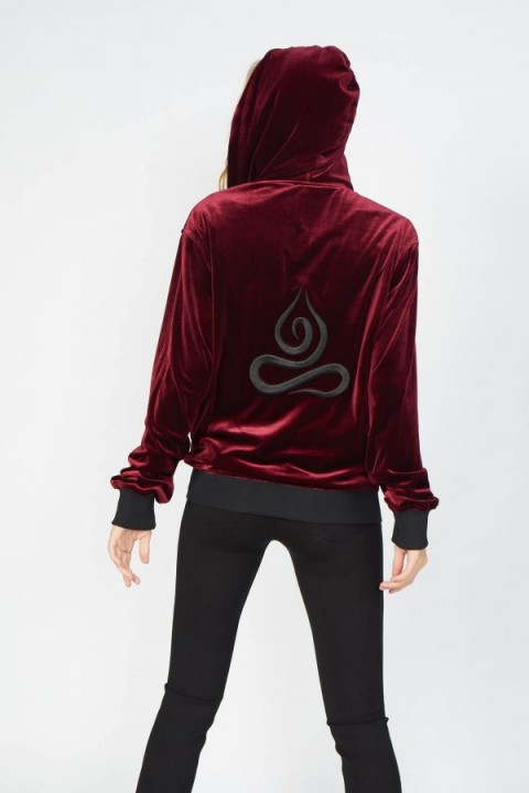 Armadio Lotus Bordo Bomber Ceket