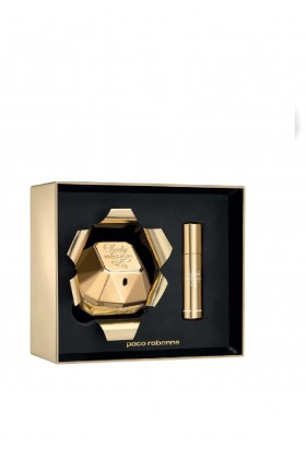 Paco Rabanne - Paco Rabanne Lady Million Bayan Edp 80ML + Travel Spray 10ML