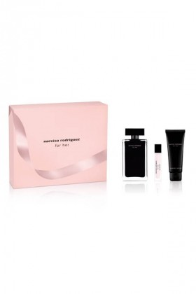 Narciso Rodriguez - Narciso Rodriguez For Her Bayan Parfüm Seti EDT 100ML + BL 75ML + 10ML