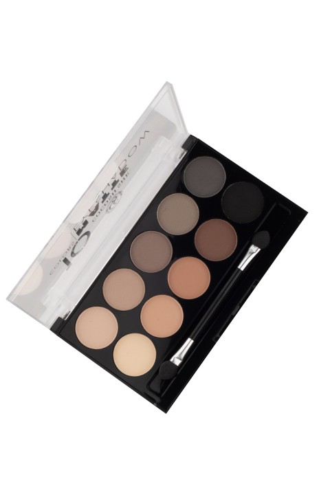 Cocosh She Cocosh She Ten-Spot Opaque Göz Farı  10 Colors Matte Eyeshadow  01 Buff