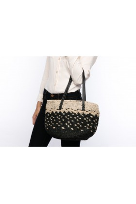 Larone by Bengartisans - Black Dark Tote