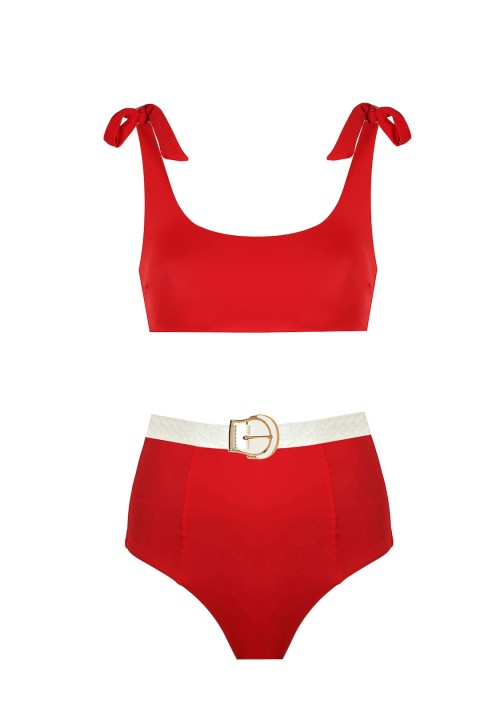 H6 by Hazal Ozman Rachael Red Bikini