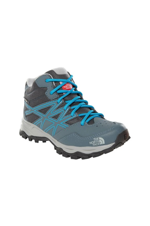 The North Face JR HH HIKER MID WP Gri Unisex Outdoor Bot