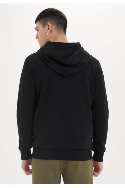 Westmark London Essentials Zip Hoodie İn Black Siyah Sweatshirt