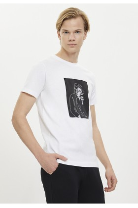 Westmark London - Whıte Lıne Art Tee T-Shirt