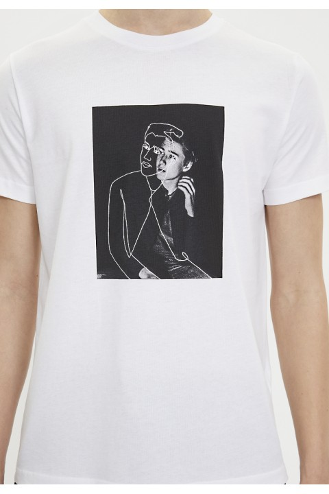 Westmark London Whıte Lıne Art Tee T-Shirt