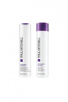 Paul Mitchell - Paul Mitchell Extra - Body Saç Kremi 300 ml+Şampuan 300 ml