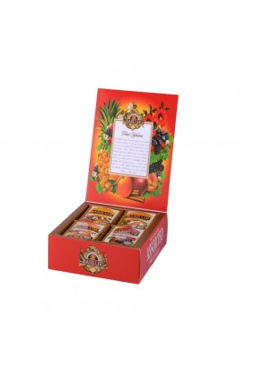 Basilur Tea - Fruit Infusions Assorted Tea Book