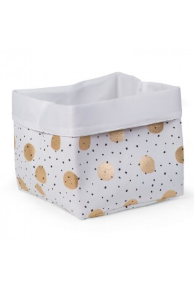 Childhome - Kanvas Kutu 32X32X29, Gold Dots