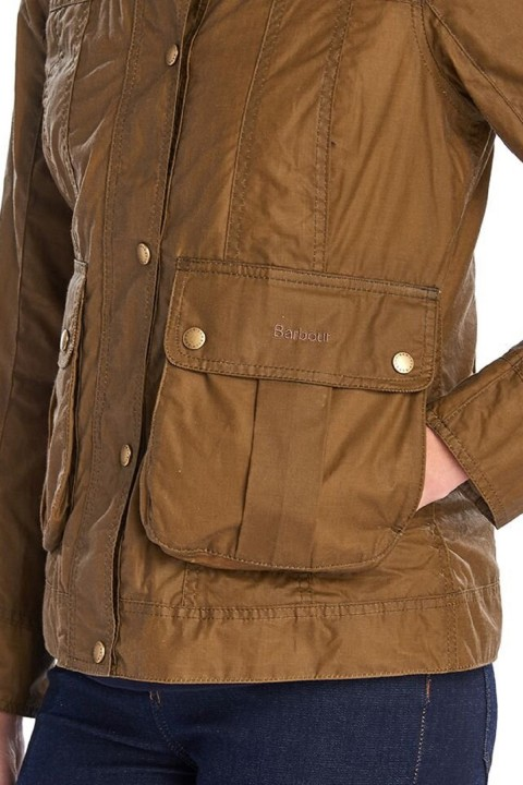 Barbour Barbour Lightweight Langley Waxed Cotton Jacket  Sand