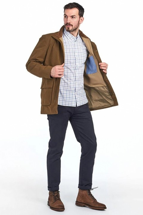 Barbour Barbour Middleton Waterproof Jacket  Sand