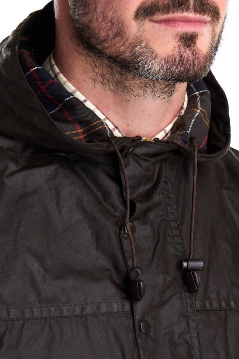 Barbour Barbour Classic Durham Waxed Jacket    Olive
