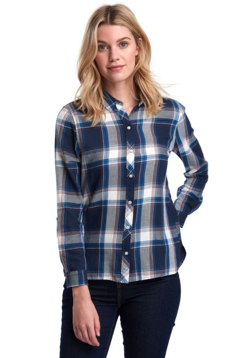 Barbour Barbour Tellin Shirt Deep Denim