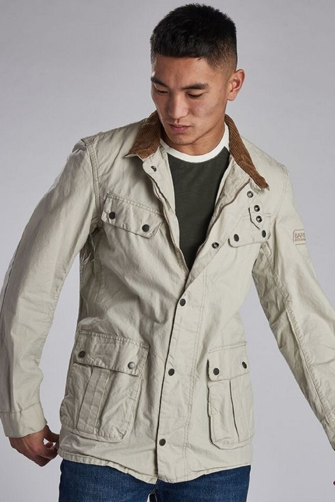 Barbour International B.Intl Coloured Duke Casual Jacket  Clay