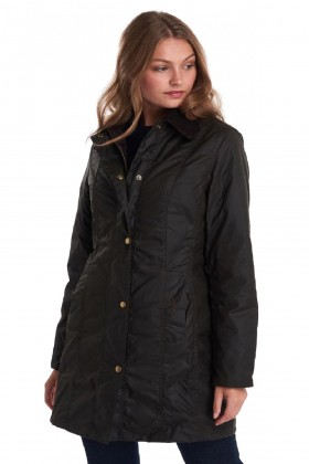 Barbour - Barbour Belsay Wax Jacked Olive