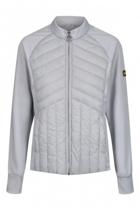 Barbour International - B.Intl Drive Zip-Through Sweatshirt Ice White