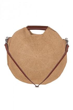 Tullaa - Camel Xl Hoop Bag