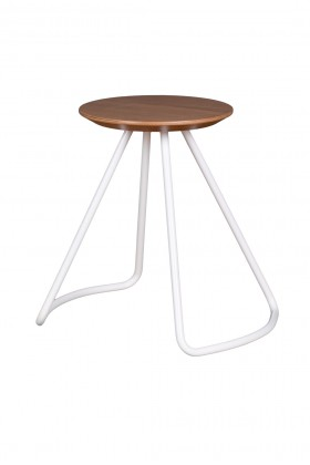 Studio Kali - Sama Stool/Table Oak-White Sehpa/Tabure