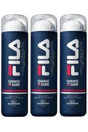 Fila - Fila Change The Game Long Lasting Actime 150 ml x 3 Deodorant Sprey Set