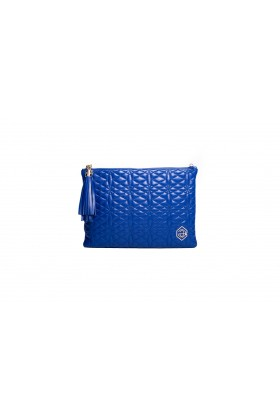 A & A Clutches Etc. - Pera Maxi Blue Çanta