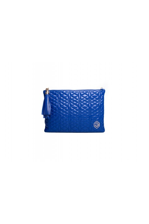 A & A Clutches Etc. Pera Maxi Blue Çanta