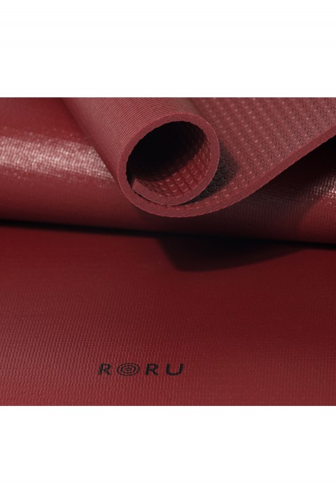 Roru Concept Eco Friendly Mor Yoga Mat Bordo